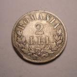 2 lei 1872 Rara