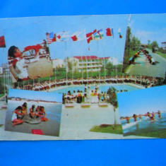 HOPCT 3509 ANUL 1989 TABARA DE COPII/PIONIERI NAVODARI -CT-CIRCULATA - Carte Postala Dobrogea dupa 1918, Printata