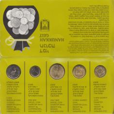 Set Monetarie Israel 1993 1 5 10, Asia
