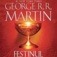 GEORGE R.R. MARTIN- URZEALA TRONURILOR- FESTINUL CIORILOR Vol. 1+2, Absolut Noua