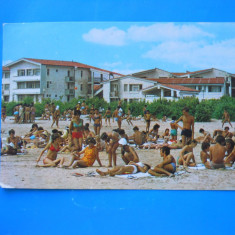 HOPCT 3510 ANUL 1975 PLAJA TABARA DE COPII/PIONIERI NAVODARI -CT-CIRCULATA - Carte Postala Dobrogea dupa 1918, Printata