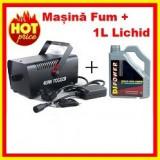 Masina De Fum Club Evenimente Telecomanda+1L Lichid
