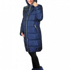 Geacă bleumarin - Palton gravide