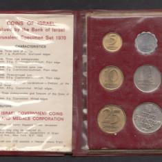 Set Monetarie Israel 1970 1 5 10 25, Asia