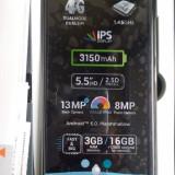 Allview Viper XE NOU 3 GB Ram Camera 13+8 Mpx Dual-sim Garantie Ecran 5, 5'IPS - Telefon Allview, Negru, 16GB, Neblocat, Quad core