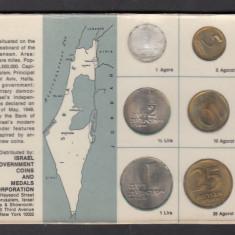 Set Monetarie Israel 1965 1 5 10 25, Asia