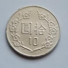 10 Dollars TAIWAN, Europa