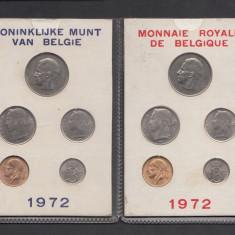 Set Monetarie Belgia 1972 1 5 10 25 50 PRET AMBELA, Europa