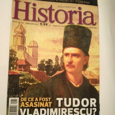 Revista Historia nr. 133 februarie 2013 De ce a fost asasinat Tudor Vladimirescu - Revista culturale