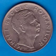 (MR2) MONEDA ROMANIA - 100 LEI 1943, VARIANTA CU LACRIMA LA OCHI, RARA