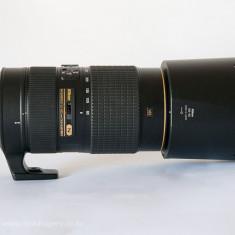 Obiectiv Nikkor AF-S 80-400 f/4.5-5.6G ED VR seria N