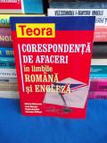 ADRIANA CHIRIACESCU - CORESPONDENTA DE AFACERI IN ROMANA SI ENGLEZA - 2006