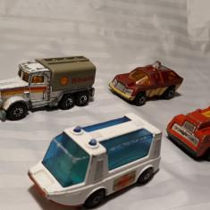 MASINUTE VECHI DE COLECTIE - MACHETE - CARCASA METAL - ANII 1970 -80 - Macheta auto Matchbox