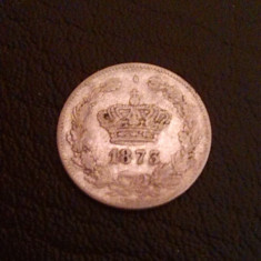 Romania 50 Bani 1873 Argint - Moneda Romania