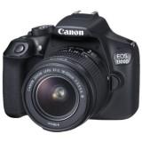 Aparat foto DSLR Canon EOS1300D,18.0 MP, Obiectiv EF-S 18-55mm+Card 32gb gratis