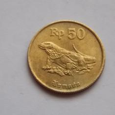 50 RUPII 1994 INDONEZIA, Europa