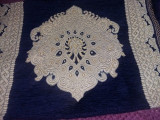 Carpeta vintage import,macat de perete superb cu ciucuri,72 cm/50 cm.T.GRATUIT
