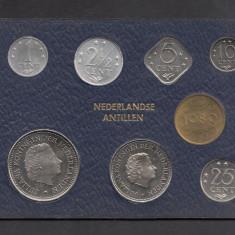 Set Monetarie Antilele Olandeze 1980 1 2 5 10 25, Australia si Oceania