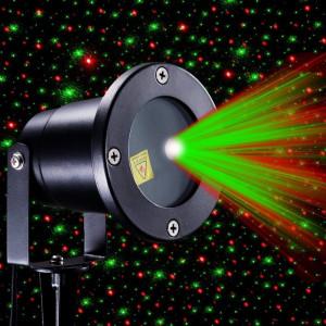 Proiector Laser exterior METALIC TELECOMANDA Jocuri de lumini diverse forme