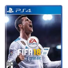 FIFA 18 PS4 Standard, joc fotbal 2018 ptr. consola PlayStation 4, Nou, Sigilat - Jocuri PS4, Sporturi, Toate varstele, Multiplayer
