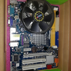 Placa de baza ASRock si Procesor Intel 2, 66 Ghz, Pentru INTEL, Contine procesor, MicroATX