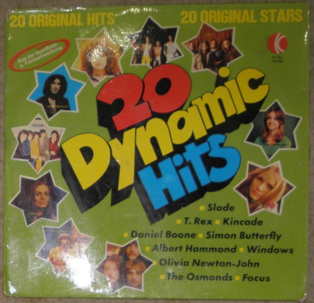 vinyl comp Osmonds,Joe Cocker,T Rex,Slade,Dr Hook,Focus,Tremeloes,Olivia New J