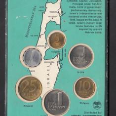 Set Monetarie Israel 1967 1 5 10 25, Asia