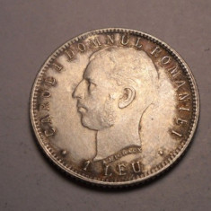 1 leu 1906 XF ++ Aunc - Moneda Romania