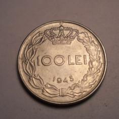 100 lei 1943 UNC - Moneda Romania