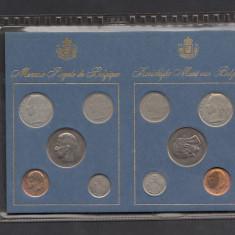 Set Monetarie Belgia 1975 1 5 10 25 50, Europa