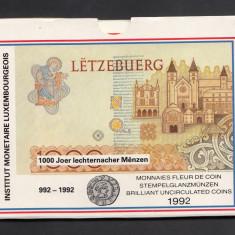 Set Monetarie Luxembourg 1992 1 5 20 50, Europa