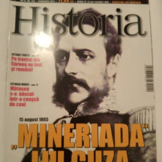 Revista Historia nr. 110 februarie 2011, Mineriada lui Cuza - Revista culturale