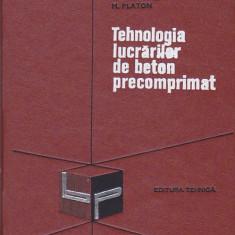 D. VIESPESCU, M. PLATON - TEHNOLOGIA LUCRARILOR DE BETON PRECOMPRIMAT