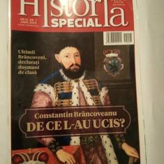 Revista Historia Special nr. 7 iunie 2014, Constantin Brancoveanu - Revista culturale