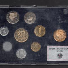 Set Monetarie Austria 1981 1 2 5 10 20, Europa