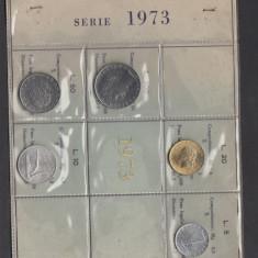 Set Monetarie Italia 1973 lire 5 10 20 50 100, Europa