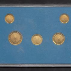 Set Monetarie Kazakstan 1993 2 5 10 20 50, Asia