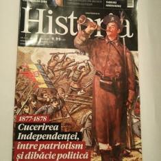 Revista Historia nr 184 / mai 2017, 1877-1878 Cucerirea independentei - Revista culturale