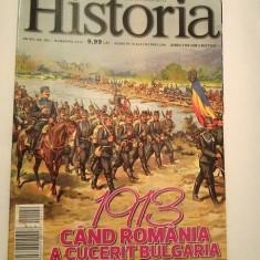 Revista Historia nr 142 / noiembrie 2013, 1913 cand Romania a cucerit Bulgaria - Revista culturale