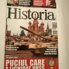 Revista Historia nr. 116 / august 2011, Puciul care a lichidat URSS - Revista culturale