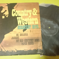 Disc Vinil Country & Western Greatest hits 1 si 2 Electrecord Romania - Muzica Country