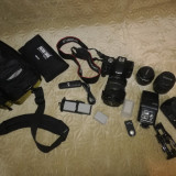 APARAT FOTO DSLR CANON 550D + ACCESORII