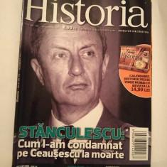 Revista Historia nr. 119 / noiembrie 2011, Stanculescu, cum l-am condamnat... - Revista culturale