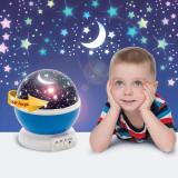 """Mini proiector model """"Cer înstelat"""" – albastru"""