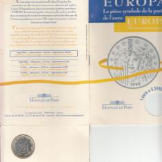 Set Monetarie Franta 1999 1 euro Argint, Europa
