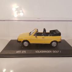 Macheta VW Golf 1 Cabriolet DetailCars 1/43