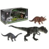 Set 3 figurine Dinozauri Plastic 2