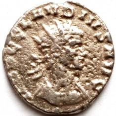 IMPERIUL ROMAN , DENAR Claudius al II-lea Gothicus 268 - 270 d.Hr. , REPLICA !!!