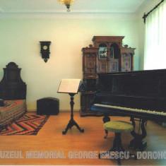 Carte postala CP BT014 Dorohoi - Muzeul memorial G. Enescu- necirculata