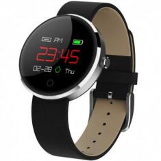 Bratara Fitness iUni DM78, Display OLED, Pedometru, Monitorizare puls, Notificari, Compatibil cu Android si iOS, Negru MediaTech Power